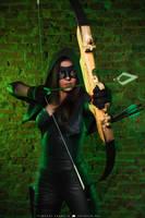 Green Arrow by MarikaGreek