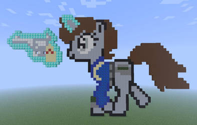 Littlepip Pixel Art by Lijiah
