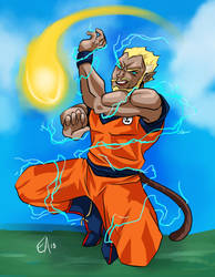 OI: Meta Mission 14 - Super Saiyan Swagger (Viro) by Lovestruckk