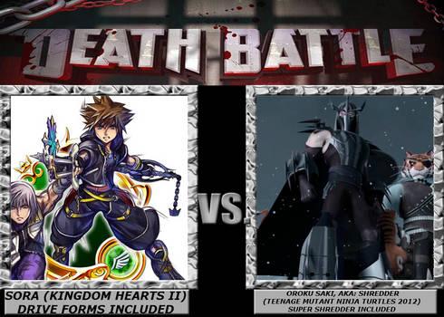 Death Battle ~ Sora VS Shredder by 4xEyes1987