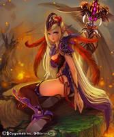 Dark Elf 4 by orryLEE