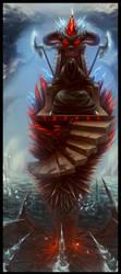 Diablo visits WoW Wotlk by UnidColor