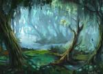 Jungle river by UnidColor