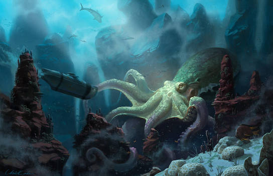 Creatures in the sea by UnidColor