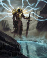 Tyrael Diablo 3 by UnidColor