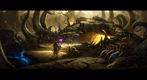 Diablo III Desolate Sands - Cave of the Betrayer by UnidColor