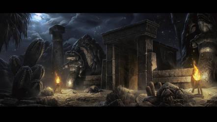 Diablo 2 Claw Viper Temple by UnidColor