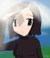 Yumi:Looking Into the Distance by sakurabana42316