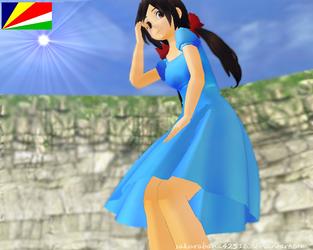 ::MMD:: APH-Seychelles by sakurabana42316