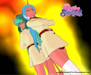 ::MMD:: Scanty and Kneesocks by sakurabana42316