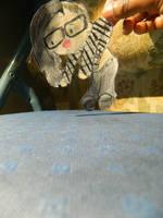Skrillex Chibi Paperchild by sakurabana42316