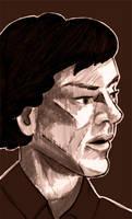 Sherlock Sketch1 by Spirallee