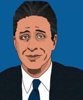 Jon Stewart by Spirallee