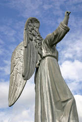Mount Calvary Metal Angel 1 by opsidian