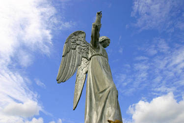 Mount Calvary Metal Angel 2 by opsidian