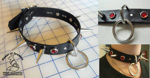 Bombalurina Collar With Ring by theassassinnox
