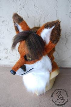 Resin fox mask by theassassinnox