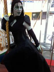 Queen Altair on a Carousel by theassassinnox