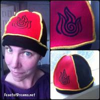 Fire Nation Hat by theassassinnox
