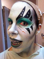 Altair Makeup Test With Teeth by theassassinnox