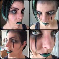 Demoness Makeup Sketch by theassassinnox