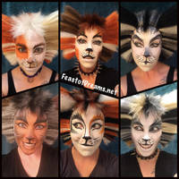 Six Swing Cats by theassassinnox