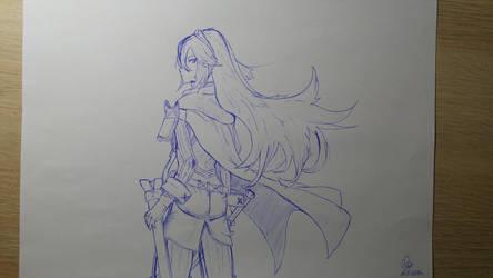 Lucina Fire Emblem by HeroAiur
