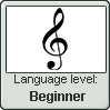 Beginner in the music language of the treble clef by BrunettePanda