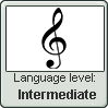 Intermediate in the language of the treble clef by BrunettePanda