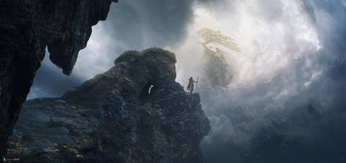The end of the way by Jessica-Rossier