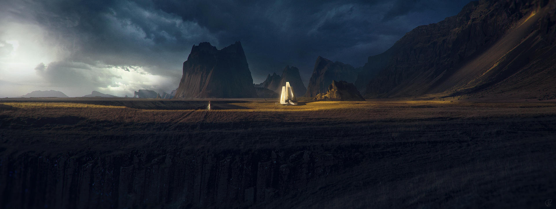 Evening patrol by Jessica-Rossier