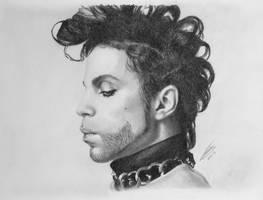 Prince Tribute Drawing by JonARTon