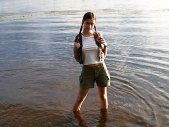 Young Lara Croft - Smile by TanyaCroft