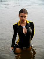 Lara Croft wetsuit - Passion by TanyaCroft