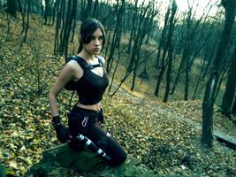 Lara Croft - autumn by TanyaCroft