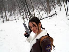 Lara Croft Bomber Jacket by TanyaCroft