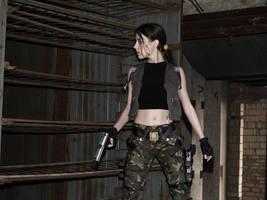 Lara Croft - Strahov complex by TanyaCroft
