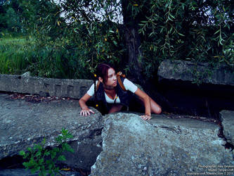 Little Lara Croft - exploring by TanyaCroft