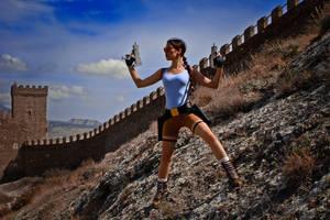 Lara Croft - The Great Wall by TanyaCroft