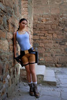 Lara Croft - entrance by TanyaCroft