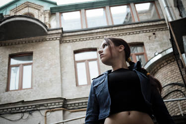 Lara Croft jeans cosplay - look around by TanyaCroft
