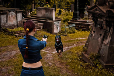 Lara Croft jeans cosplay - choose your destiny by TanyaCroft