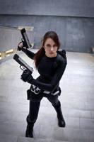 Lara Croft catsuit - Necronomicon 5 by TanyaCroft