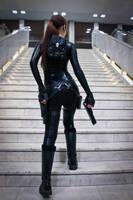 Lara Croft catsuit - Necronomicon 3 by TanyaCroft