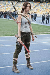 Lara Croft cosplay - WeGame 3 by TanyaCroft