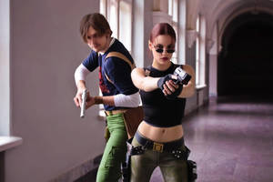 Tomb Raider AoD - good team by TanyaCroft