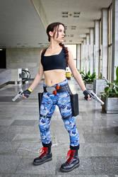 Lara Croft cosplay - ComicCon'16 3 by TanyaCroft