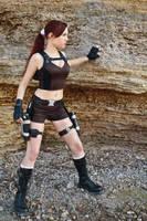 Lara Croft Underworld - on the coast by TanyaCroft