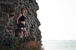 Lara Croft Underworld - ledge by TanyaCroft
