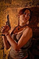 Lara Croft REBORN cosplay - ambush by TanyaCroft